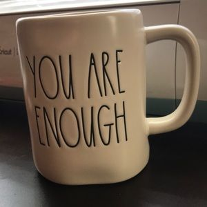 Rae Dunn mug YOU ARE ENOUGH